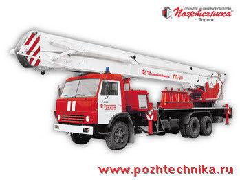 KAMAZ PPP-30 Penopodemnik pozharnyy Feuerwehrleiter