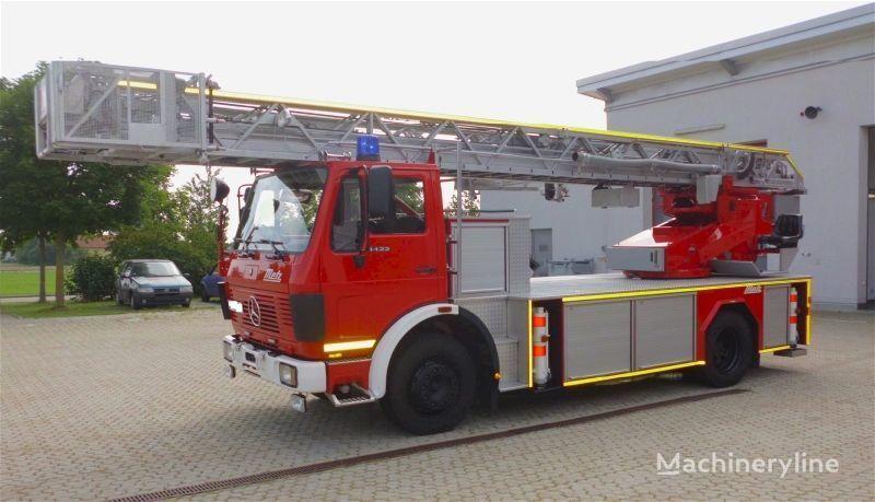 MERCEDES-BENZ F20126-Metz DLK 23-12 - Fire truck - Turntable ladder  Feuerwehrleiter