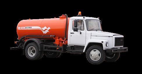 GAZ Vakuumnaya mashina KO-522B Saugwagen
