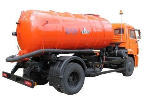 KAMAZ KO-529-13  Saugwagen