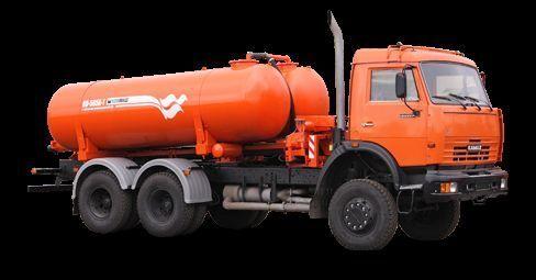 KAMAZ Vakuumnaya mashina KO-505A-1 Saugwagen
