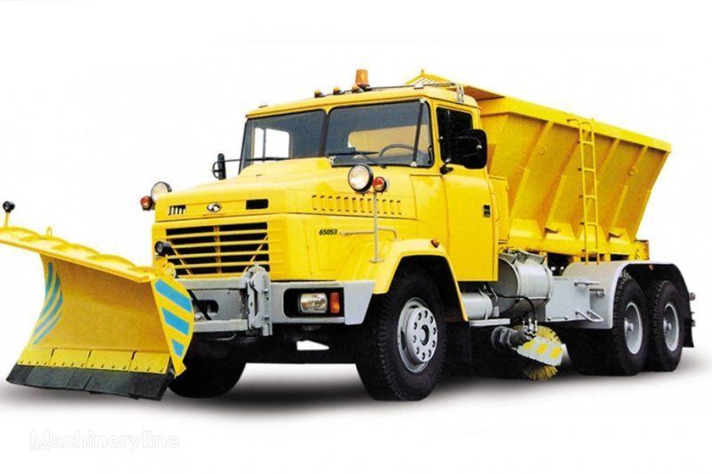 KRAZ 65053 KDM-1522/1521 Schneefräse