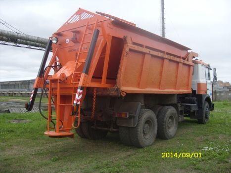 neuer KAMAZ MKDS 6 Streuwagen