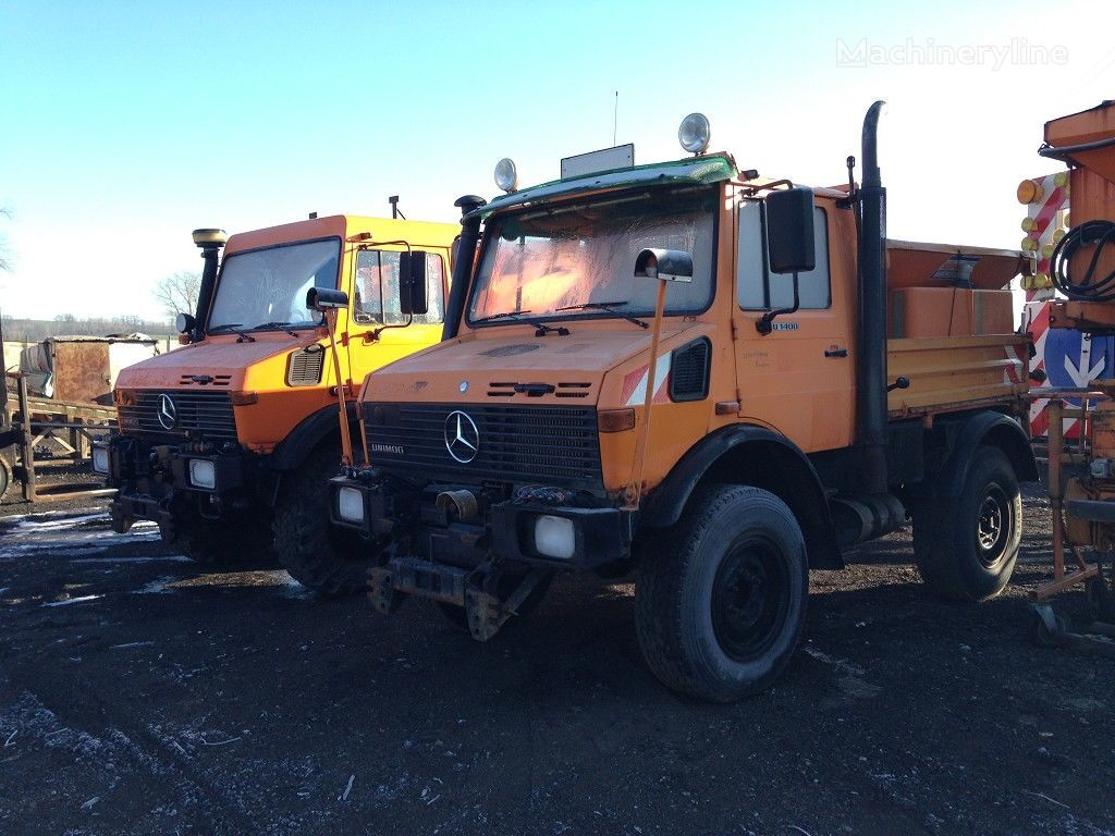MERCEDES-BENZ MB Unimog  U 1400 Streuwagen