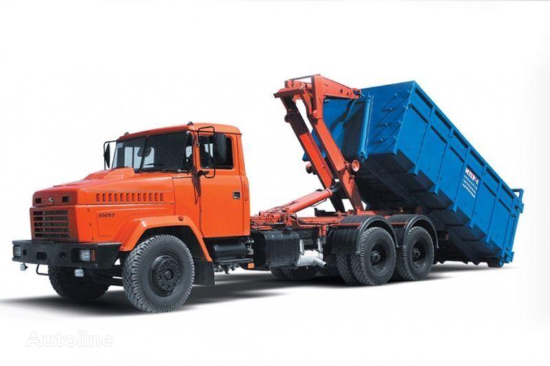 KRAZ 65053 MPR-1  Abrollkipper LKW