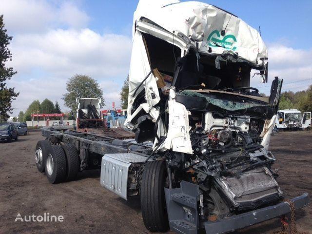 defekte MERCEDES-BENZ Actros 2642  Fahrgestell LKW für Ersatzteile