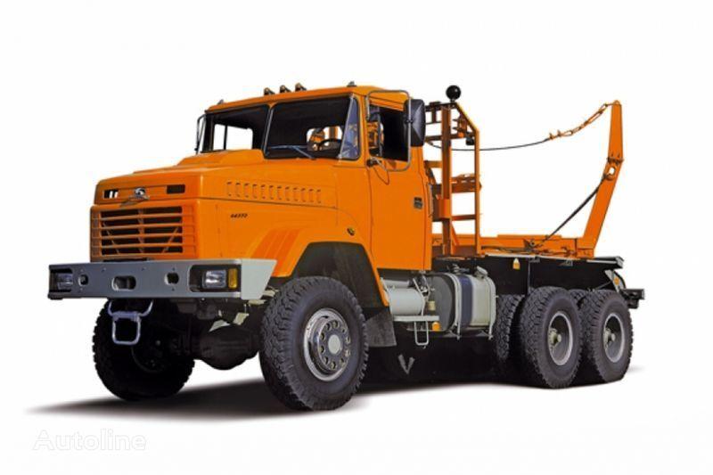 KRAZ 64372 tip 2  Holztransporter LKW