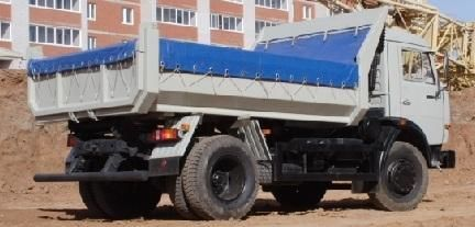 neuer KAMAZ 43255 Kipper LKW