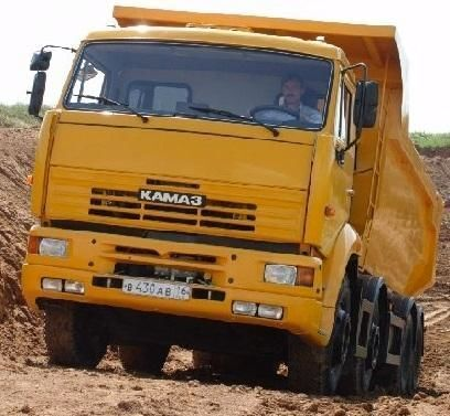 neuer KAMAZ 65201 Kipper LKW