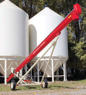 neues ROSTSELMASH Transporter zerna shnekovyy TSh Getreidestreuer