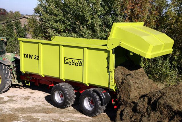 neuer CONOW TAW 22 Landwirtschaftliche Anhänger