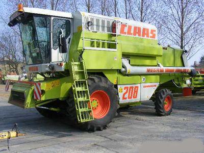 CLAAS MEGA 208 Mähdrescher