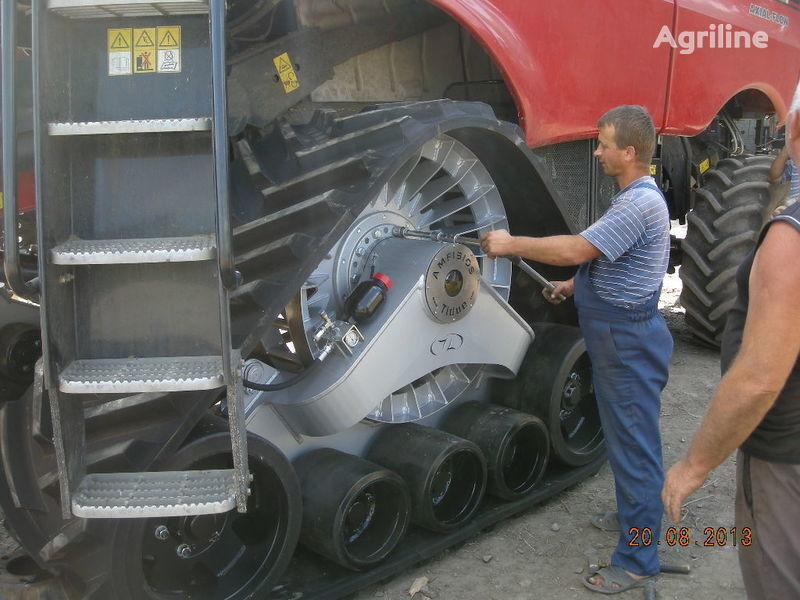 neuer CLAAS rezinovye gusenicy dlya kombaynov i traktorov. Mähdrescher