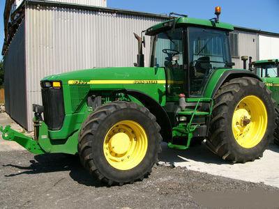 JOHN DEERE 8300 Radtraktor