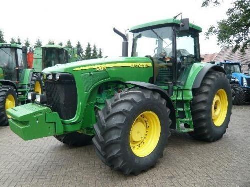 JOHN DEERE 8410 Radtraktor