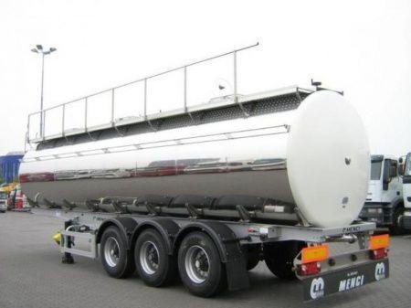 neuer SANTI SANTI-MENCI pishchevaya cisterna BPW ECO-AIR SANTI-MENCI Lebensmitteltank