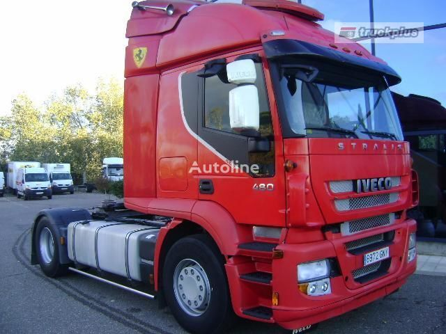 IVECO STRALIS AS 440S48 Sattelzugmaschine