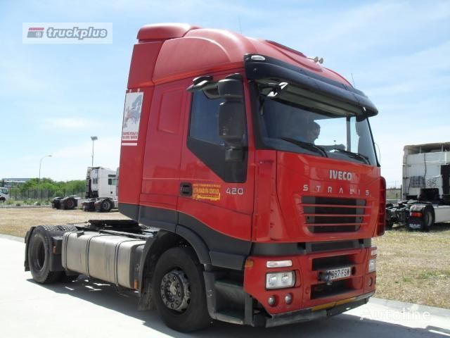 IVECO STRALIS AT 420 Sattelzugmaschine