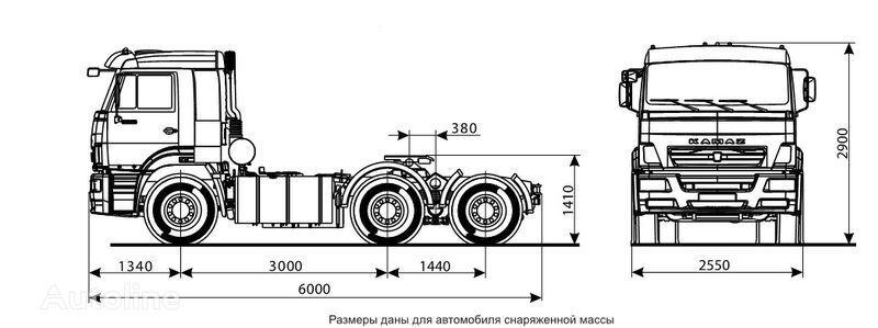 KAMAZ 6460 (6h4) Sattelzugmaschine