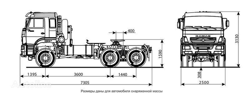 KAMAZ 65225 Sattelzugmaschine