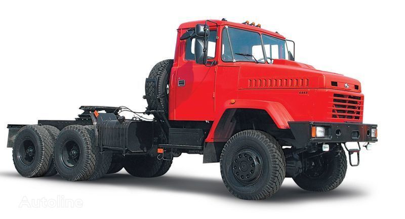neue KRAZ 6443 Sattelzugmaschine