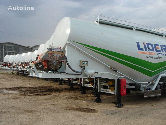 neuer LIDER NEW ciment remorque 2017 YEAR (MANUFACTURER COMPANY) Zementtransporter