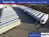 Verkaufsplatz Schmitz Cargobull Latvija SIA