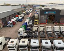 Verkaufsplatz MD Trucks B.V.