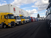 Verkaufsplatz Renault Trucks France by Volvo group Lyon