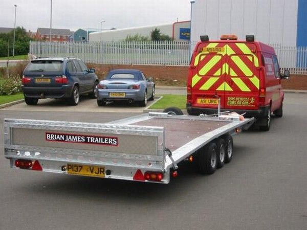 BRIAN James Trailers TT-T-303 Autotransporter Anhänger