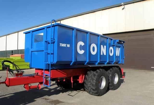 neuer CONOW Tandem-Dreiseitenkipper (TMK 16) Getreidetransporter Anhänger