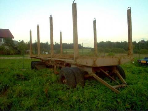 Holztransporter Anhänger