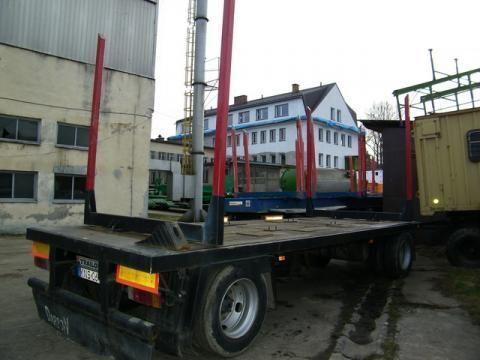 TRAILOR R 202 EN 3 L Holztransporter Anhänger
