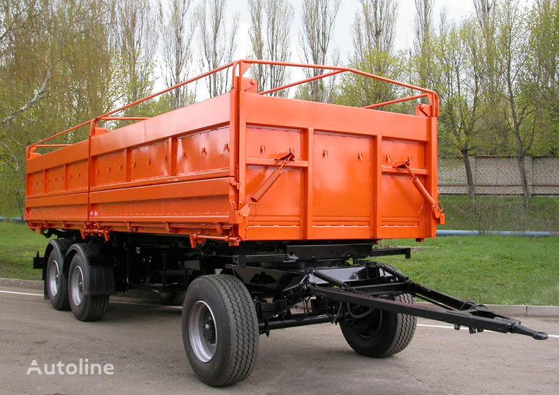 neuer KAMAZ SZAP-8538-01 Kipper Anhänger