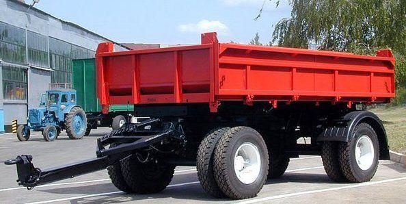 neuer KAMAZ SZAP-8543 Kipper Anhänger