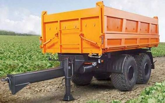 neuer KAMAZ SZAP-8582T Kipper Anhänger