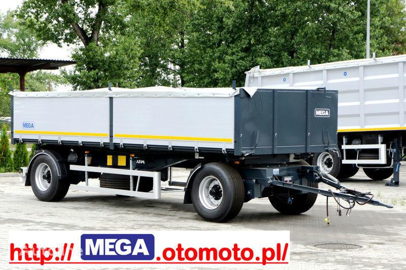 neuer MEGA 3 x way dump / 2 axel / alu bort / grainhole Kipper Anhänger