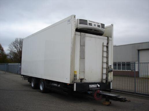 SCHMITZ CARGOBULL Schmitz Cargobull 2 AXLE TRAILER - FRIGOBOX -THERMOKING TS-500 Kühlanhänger