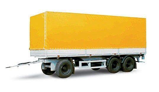 neuer MAZ 870100-3010 Planenanhänger