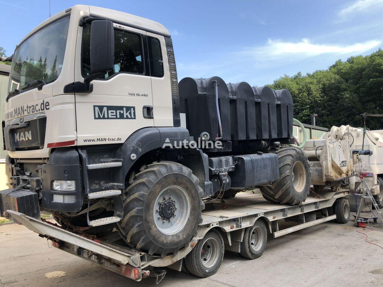 HUMBAUR HTD308525 Tieflader Anhänger