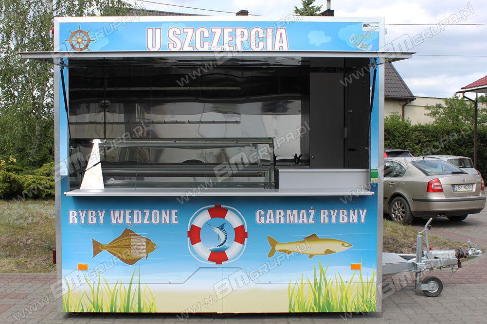 neuer BMgrupa Catering trailers,przyczepa gastronomiczna do sprzedaży ryb,Verk Verkaufsanhänger