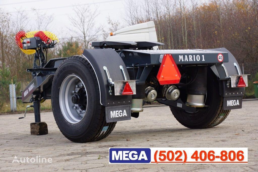 neuer MEGA 1 Achse Dolly fur Kipper / Hydraulik Pumpe / FERTIG  dolly Anhänger