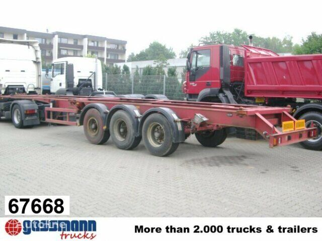 SAnh Container Chassis Auflieger Fahrgestelle