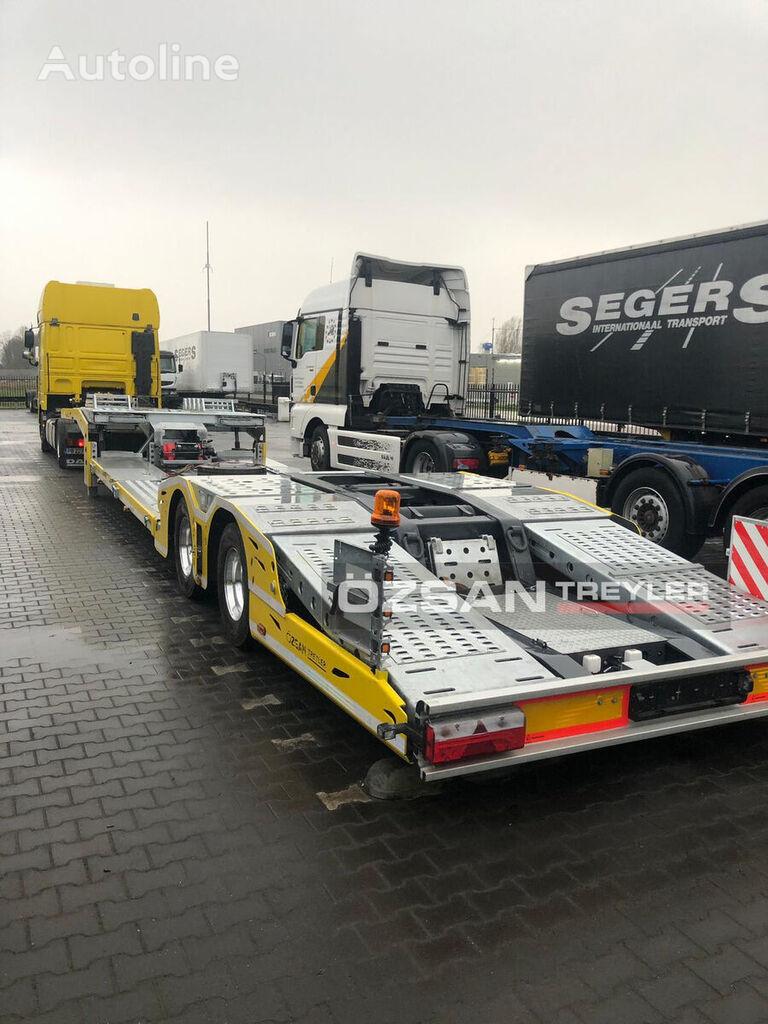 neuer Ozsan Trailer NEW MODEL (VEGA-MAX) Autotransporter Auflieger