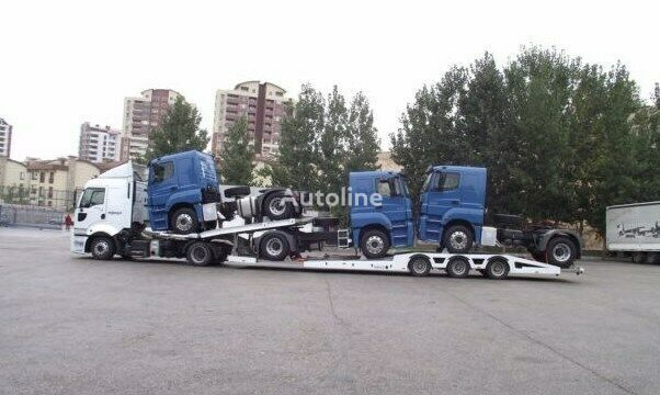 neuer TUERK 2020 Truck & Car carrier Autotransporter Auflieger