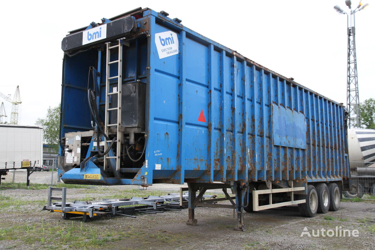 BMI EJ110 EJECTOR TRAILER FOR SCRAP Bandwagen Auflieger