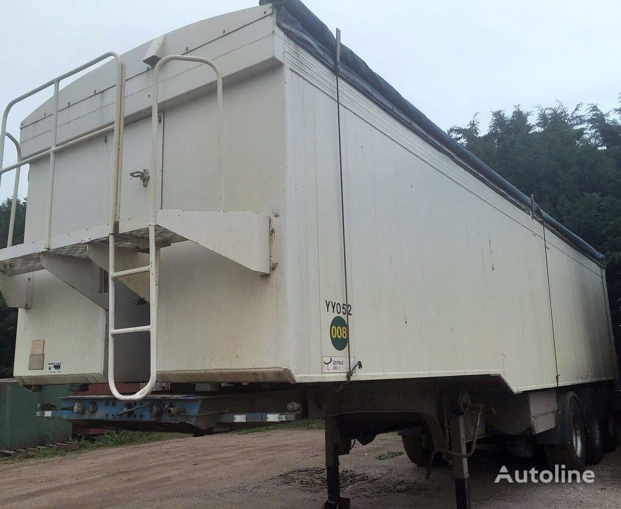 FRUEHAUF KIPPER 53M3 ALU Getreidetransporter Auflieger
