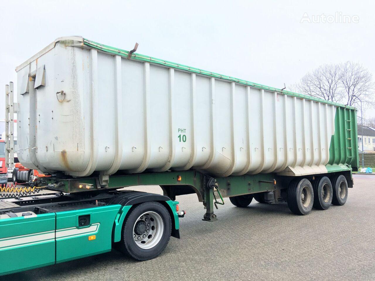 GENERAL-TRAILERS Kipper - Fruehauf 49m3 ALU/Steel - Cover Getreidetransporter Auflieger