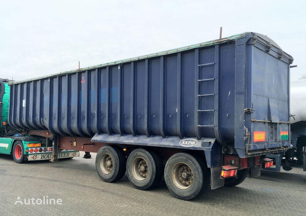 Kipper - Fruehauf 49m3 ALU/Steel - Cover Getreidetransporter Auflieger