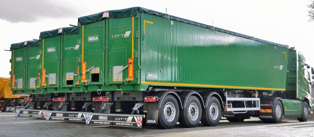 neuer MEGA 55 ATKD Getreidetransporter Auflieger